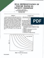 The Graphical Representation of Bulk Volume Water on the Pickett Crossplot