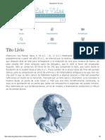 Biografia de Tito Livio