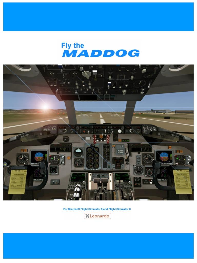 fly the maddog user manual personal computers cockpit rh scribd com