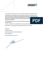 letter of reccomendation - timothy john adair