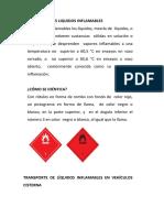 Liq Inflamables Hidrocarb Liquidos Reglas Para Transporte Granel