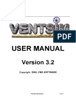 Manual Ventsim