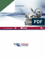 Catalogo de refacciones Italika RC 150