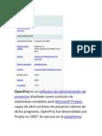 Open Proj