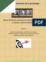Teoria Cognitiva, Sociocultural, Constructivsimo