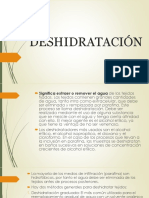 DESHIDRATACIÓN