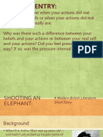 modern lit unit shooting an elephant