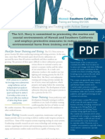 HSTT EIS/OEIS Importance of Training and Testing With Active Sonar Fact Sheet