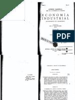 Marshall, Economia Industrial (1)