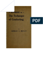 A Handbook on the Technique of - Boult, Adrian, 1889-1983