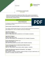 CFAP Difusion Actividades Segundo Cuatrimestre 2017
