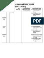 Rancangan Pelajaran Mingguan Pendidikan Moral (2)