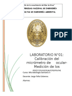 Microbiologia II Laboratorio N1