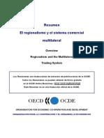 Acuerdos Regionales y Multilateralismo en La Omc