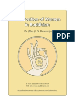 39. the Position of Woman of Buddhism