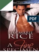Lisa Lisa Marie Rice - O Espécime Perfeito..