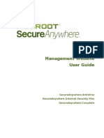 Secure Anywhere Website User Guide