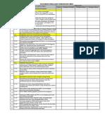 Checklist Audit SMK3 Berdasarkan PP No.50 Tahun 2012 (1)