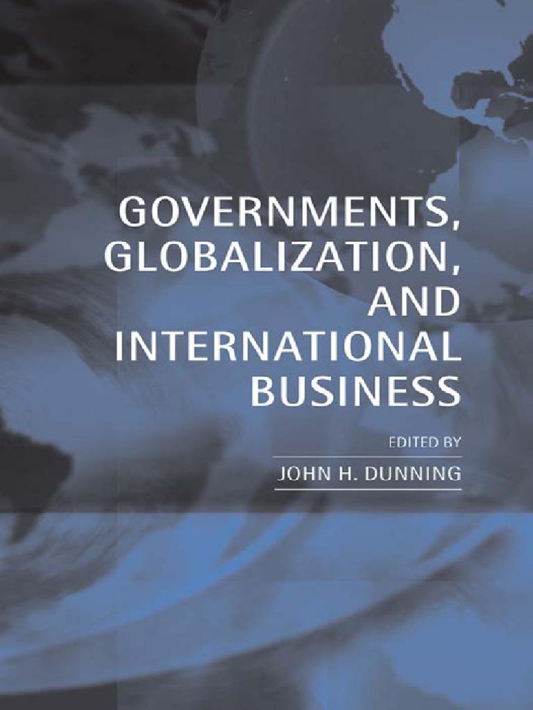 global capitalism at bay dunning professor john h