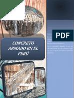Trabajo 01 - Concreto en El Perú