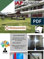 Restauracion en Arquitectura