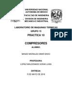 Practica 10 LMT
