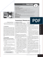 Tratamiento Tributario y Penalidades