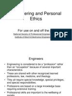 Engineering & Personal Ethics