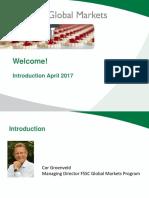 Introduction Presentation Fssc Global Markets April 2017 v1.0