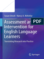 Assessment and Intervention for ELL