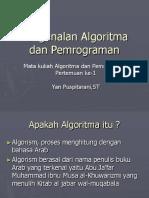 Pert 1 Pengenalan Algoritma