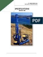 Specification Jacro IE300