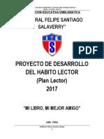 Proyecto de Habito Lector Iefesasa 2017