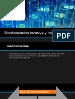 Monitorización Invasiva y No Invasiva