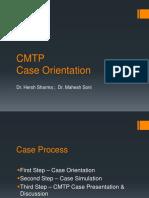 CMTP Case Orientation 2017