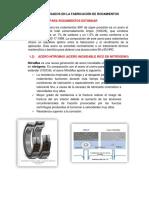 Materiales Usados en La Fabricación de Rodamientos