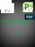 Presentacion Microsoft Project