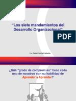Los 7 mandamientos Del Desarrollo Organizacional