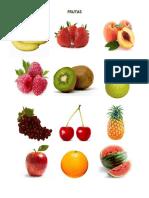 Frutas y Verduras Para Pegar