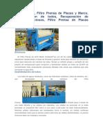 Filtro Prensa 1
