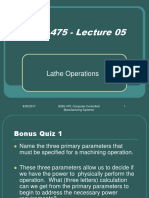 IENG 475 Lecture 05