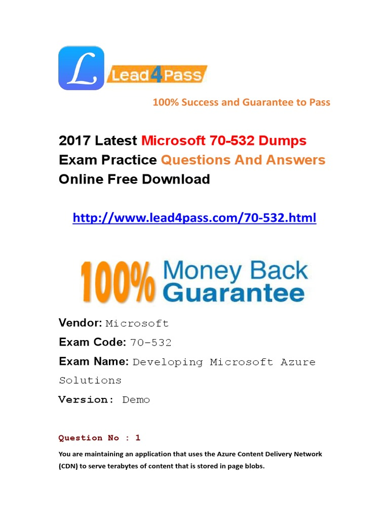 2017 latest microsoft 70 532 dumps pdf practice files microsoft 2017 latest microsoft 70 532 dumps pdf practice files microsoft azure computer data storage 1betcityfo Choice Image