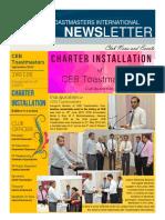 Newsletter - CEB Toastmasters (September 2015)