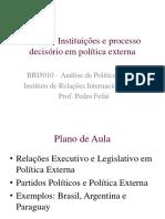 Aula 7 Instituições e Processo Decisório Em Política Externa