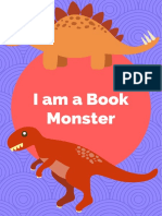 I am a book monster