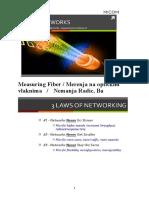 Measuring Fiber Merenja Na Optickim Vlaknima NRadic Ba