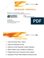 Coal Fired Boiler -Principals