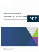 Construction Guidelines - Risk and Value Management