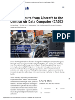 5 Data Inputs From Aircraft to the Central Air Data Computer (CADC)