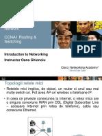 CCNA1 R&S - Cap. 11 It's a Network